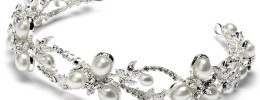 Faux Pearl and Crystal Bridal Headband