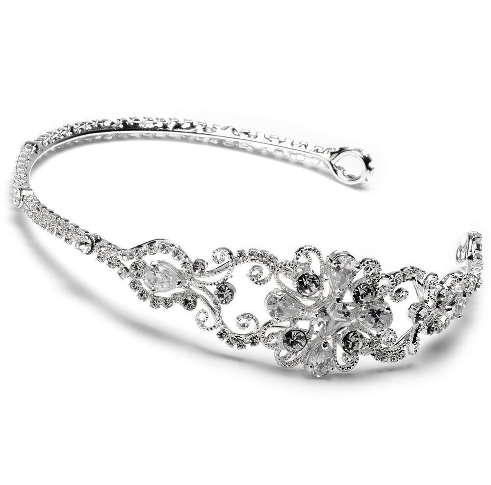 Wedding Tiara Bridal Headband with Rhinestone