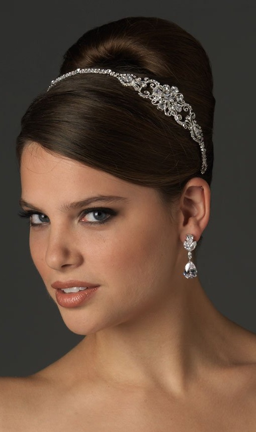 Wedding Bridal Headband with Rhinestone