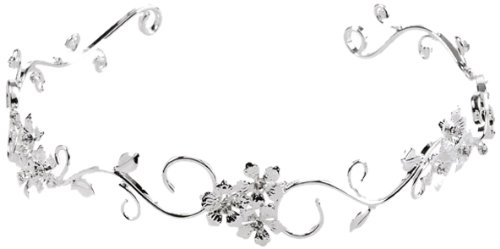 rhinestone Flower Bridal Headband for Wedding