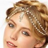 Romantic Vintage Bridal Headband chain